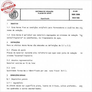 NBR5998 de 03/1980