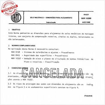 NBR10399 de 08/1988