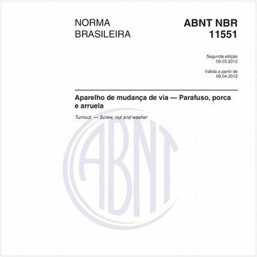 NBR11551 de 03/2012