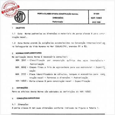 NBR10869 de 12/1989