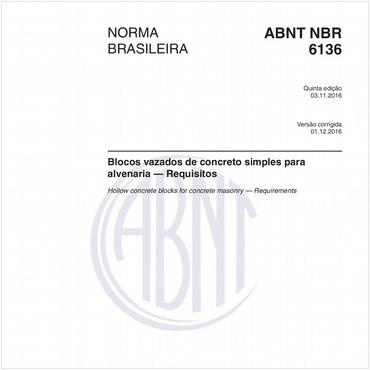 NBR6136 de 11/2016