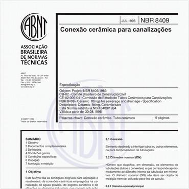 NBR8409 de 07/1996
