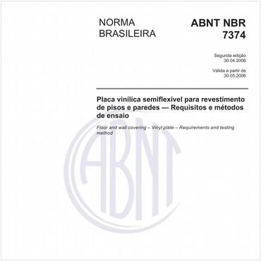 NBR7374 de 04/2006