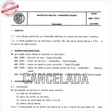 NBR10771 de 10/1989