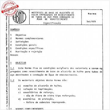 NBR11745 de 1979