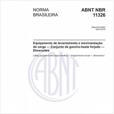 NBR11326 de 04/2016