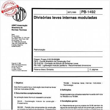 NBR11683 de 09/1990