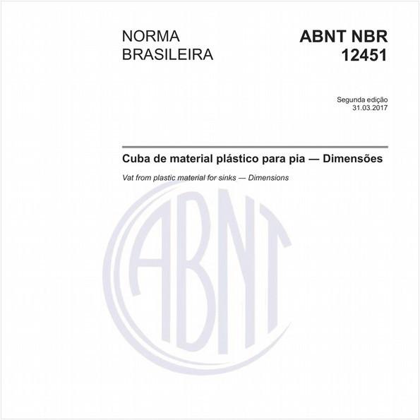 NBR12451 de 03/2017