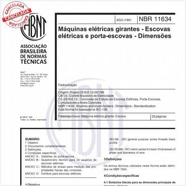 NBR11634 de 08/1991
