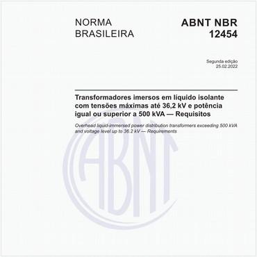 NBR12454 de 12/1990
