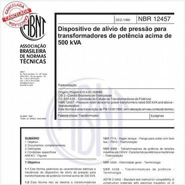 NBR12457 de 12/1990