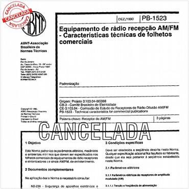 NBR12462 de 12/1990