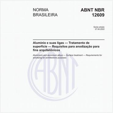 NBR12609 de 02/2017
