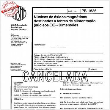 NBR12474 de 03/1991