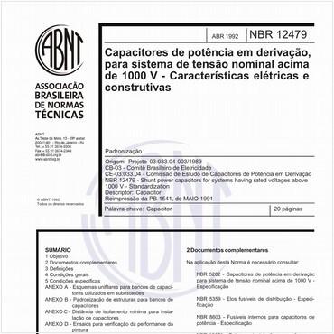 NBR12479 de 04/1992