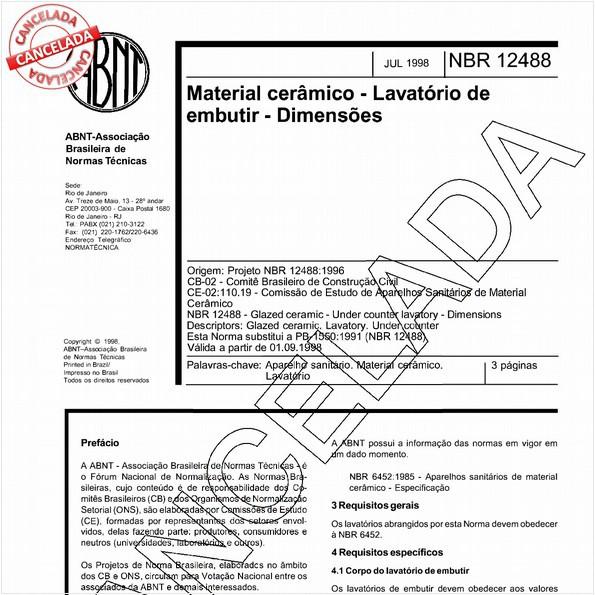 NBR12488 de 06/2004