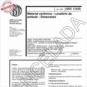 NBR12488 de 07/1998