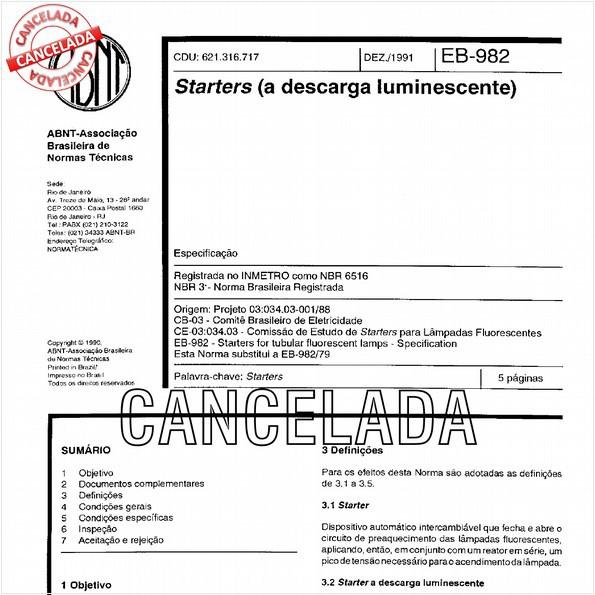 NBR6516 de 10/2012