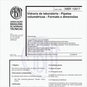 NBR12617 de 08/1992
