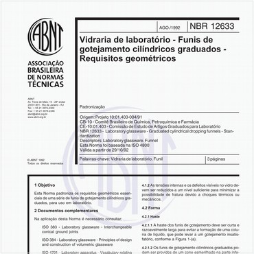 NBR12633 de 08/1992