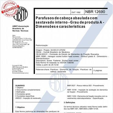 NBR12690 de 10/1992