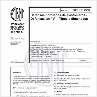 NBR12828 de 04/1993