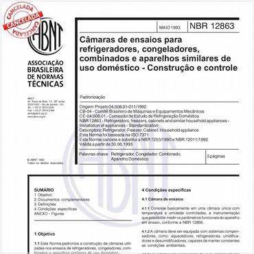 NBR12863 de 05/1993