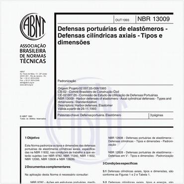 NBR13009 de 11/1993