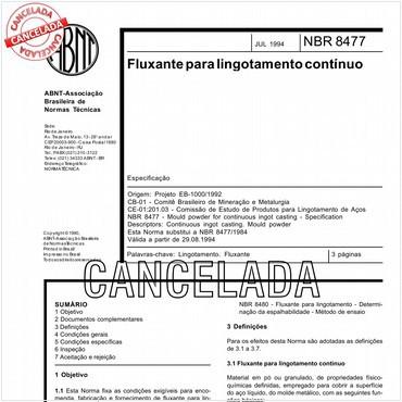 NBR8477 de 07/1994