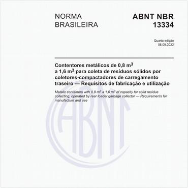 NBR13334 de 11/2017