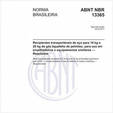 NBR13365 de 06/2017