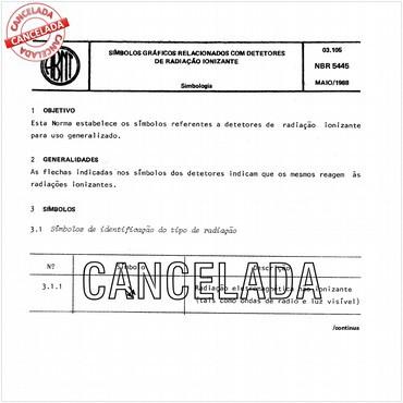 NBR5445 de 05/1988