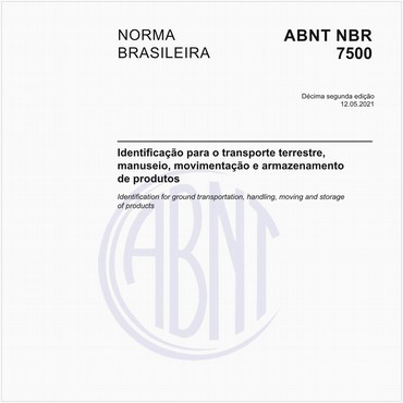 NBR7500 de 05/2018