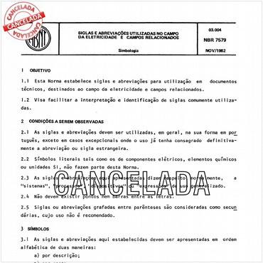 NBR7579 de 11/1982