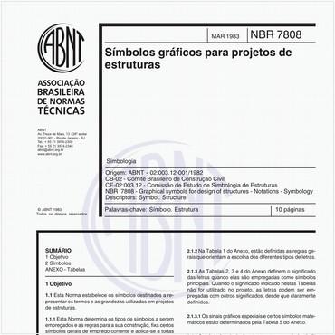 NBR7808 de 03/1983