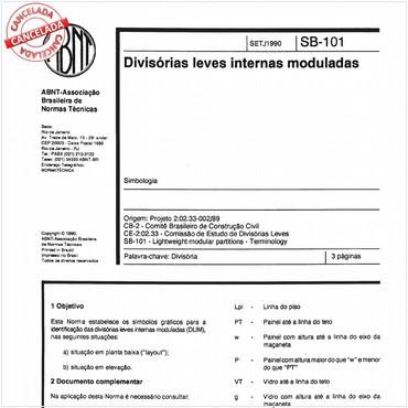 NBR11684 de 09/1990