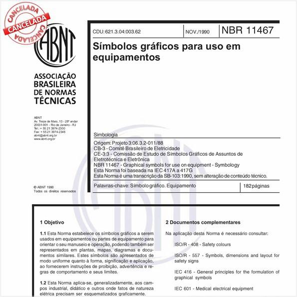NBR11467 de 11/2012