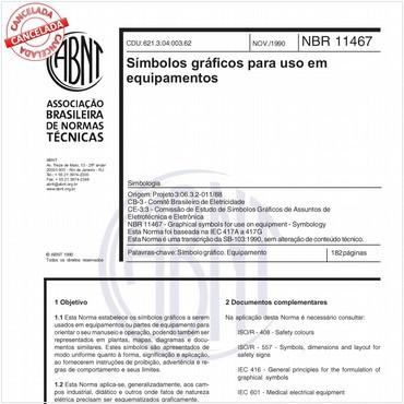 NBR11467 de 11/1990