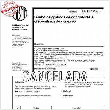 NBR12520 de 04/1992