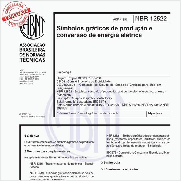 NBR12522 de 10/2012