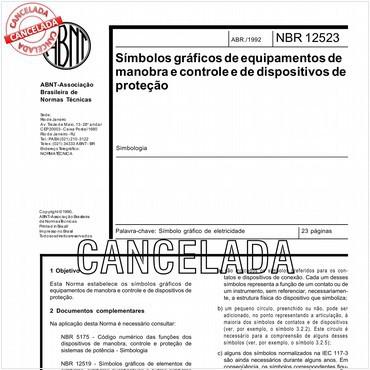NBR12523 de 04/1992