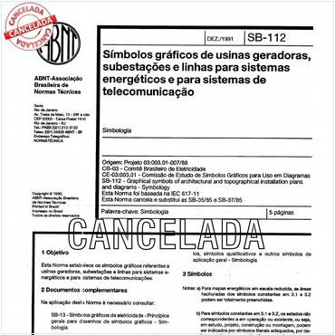 NBR12524 de 12/1991