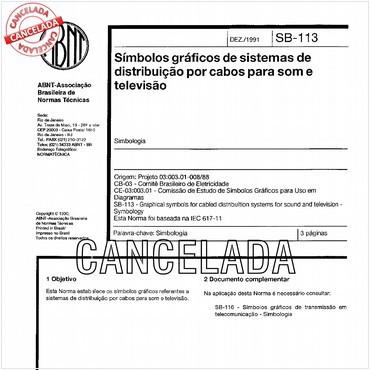 NBR12525 de 12/1991