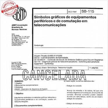 NBR12527 de 12/1991