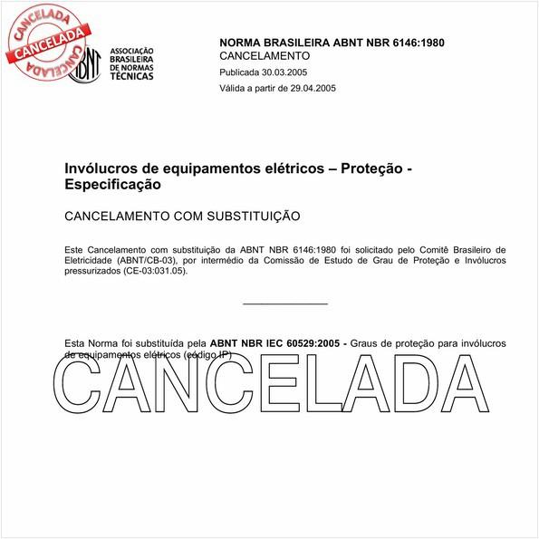 Graus de proteção para invólucros de equipamentos elétricos (código IP)
