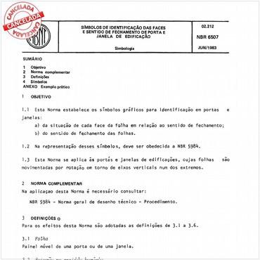 NBR6507 de 06/1983