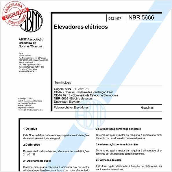 NBR5666 de 08/2014