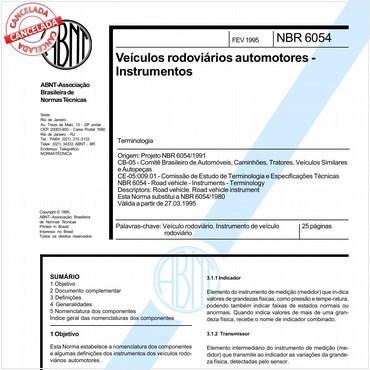 NBR6054 de 02/1995