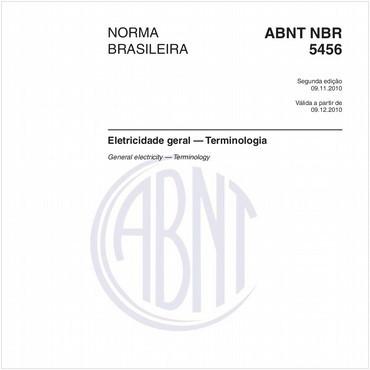 NBR5456 de 11/2010