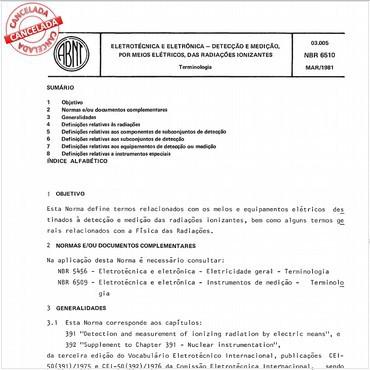 NBR6510 de 10/1982